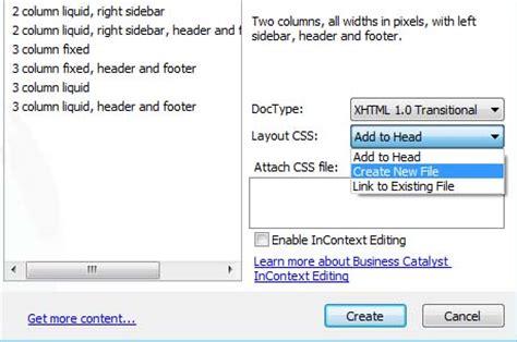css layout in dreamweaver editing css layouts in dreamweaver cs5 cs6