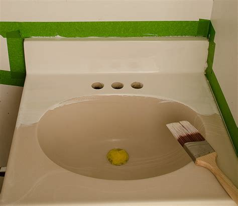 epoxy paint for bathroom sink paint sink befon for