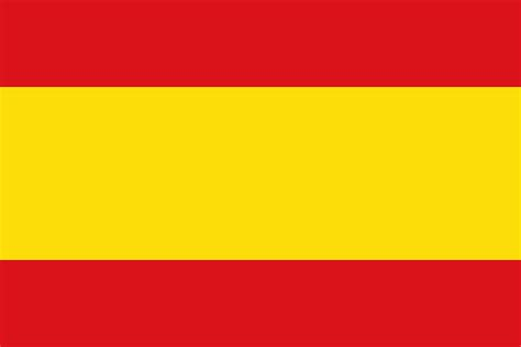 colors of spain file flag of spain civil alternate colours svg