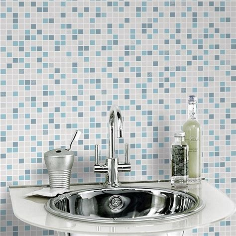vinyl bathroom wallpaper graham brown checker pattern tile vinyl bathroom