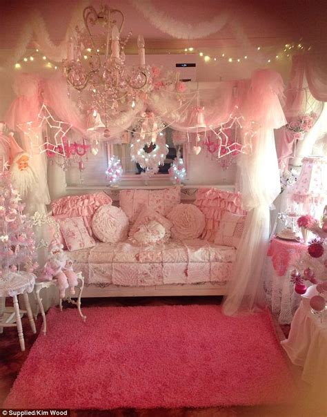 how to decorate the house kim wood s perth home is barbie s dream house with all