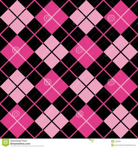 pattern black and pink argyle pattern black magenta pink stock vector