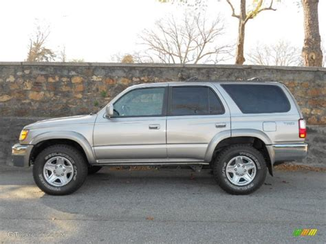 2001 Toyota 4runner Sr5 Thunder Cloud Metallic 2001 Toyota 4runner Sr5 Exterior