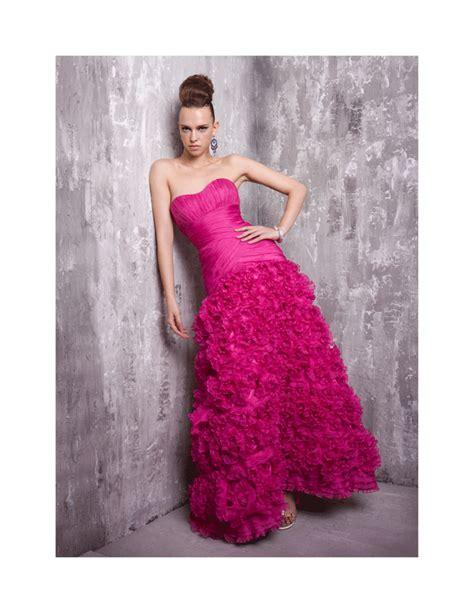 Pm Fushie Dress Fn merry fuschia wedding dress wedding ideas