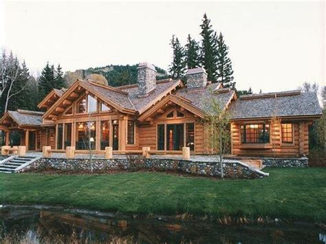 lodge homes plans craftsman style ranch cabin amp lodge house plan alp house