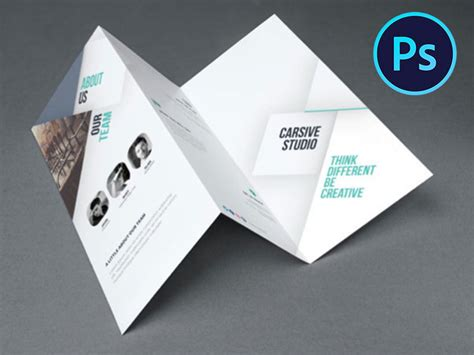 business catalog brochure design template psd download
