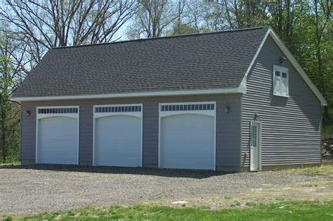 Saltbox Garage Plans by Woodstock Saltbox Style One Story Garage The Barn Yard