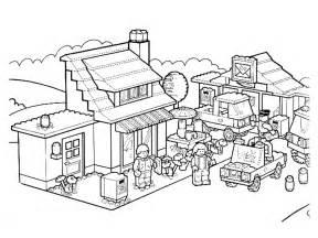 desenhos para colorir lego az dibujos para colorear
