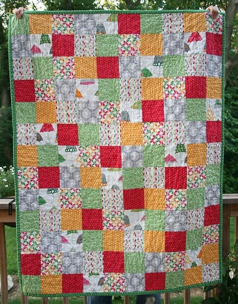 Crib Size Quilts by Modern Quilt Crib Size