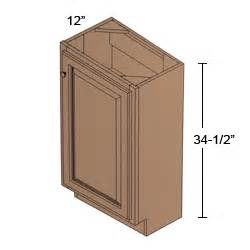12 inch base cabinet b15 fh 12 hawthorne cherry toffee base height