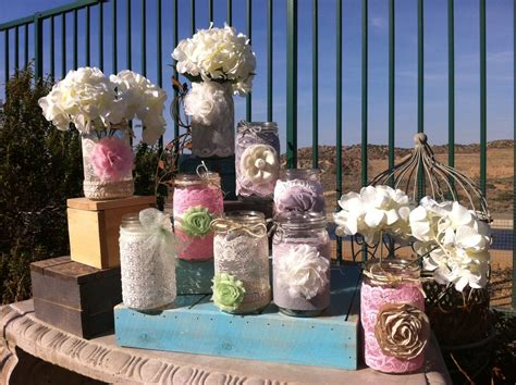 shabby chic wedding table decorations unavailable listing on etsy