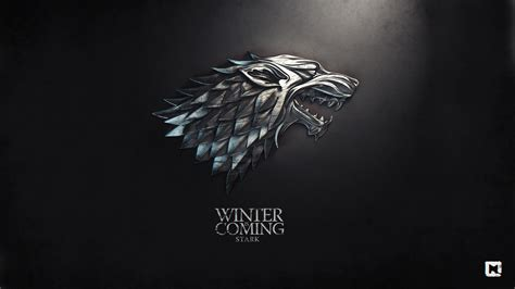 house stark stark banner wallpaper