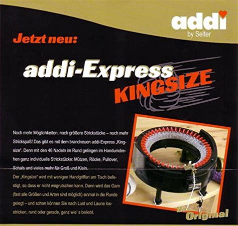 addi express kingsize knitting machine addi express king size knittin sale r50 your