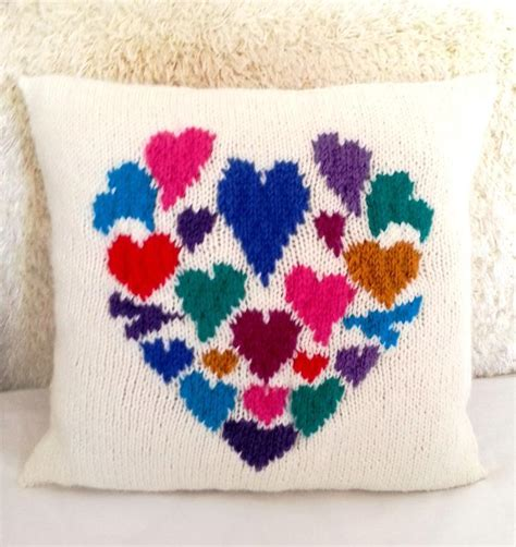 knitting pattern heart pillow easy valentine s knitting patterns for your sweetie