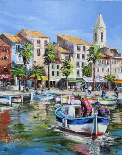Peintre Sanary Sur Mer by Peintre Sanary Sur Mer Port De Sanary 92 73 Cm Peintures
