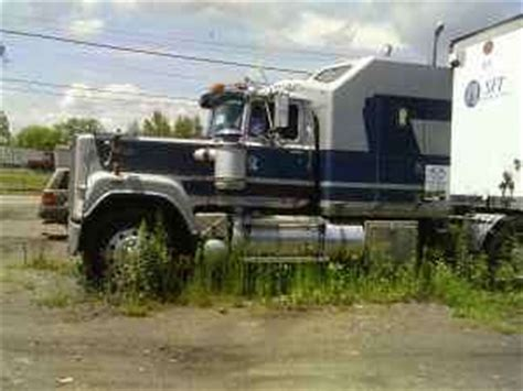 Mack Superliner Sleeper by 1989 Mack Superliner With Sleeper Images Frompo