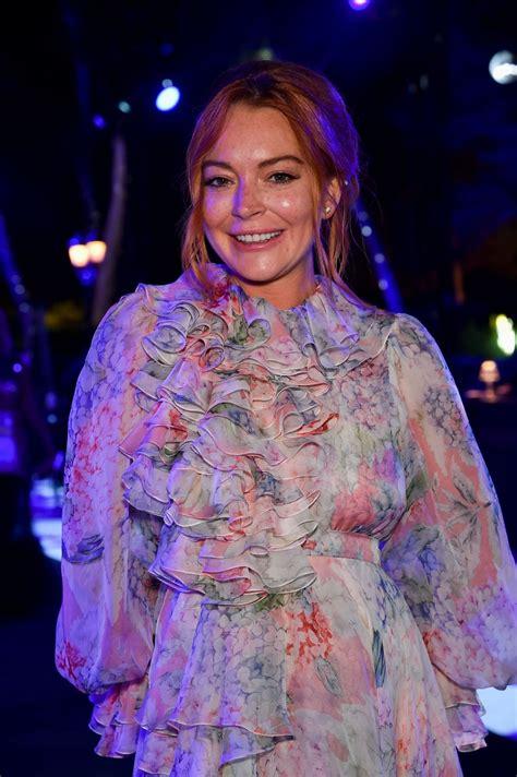 Lindsay Lohan by Lindsay Lohan On The Rocks At Cannes