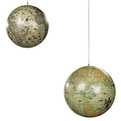hanging world globe