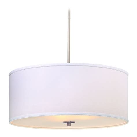 large drum pendant light large modern drum pendant light with white shade dcl