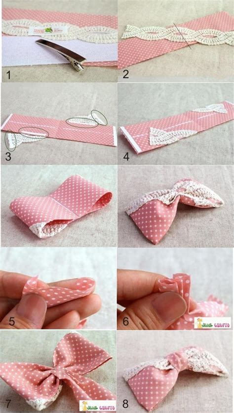 hair bow instructions project cute diy projects make your own dotted hair bow