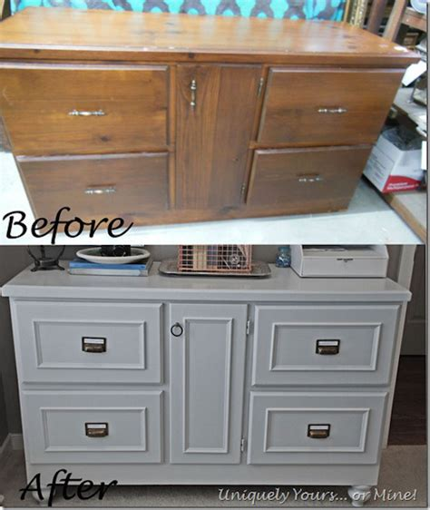 painted furniture ideas before and after 9 before and after furniture makeovers omg lifestyle blog