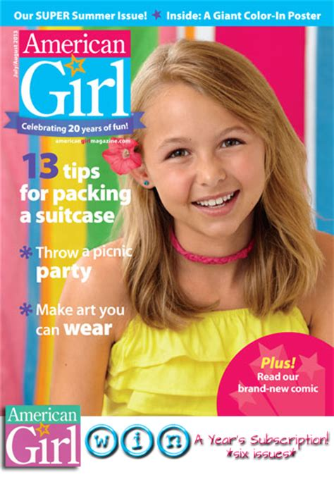doll reader subscription american magazine july august highlights with a