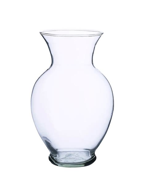 Glass Vase by Flower Vases Recycled Glass 8 5in