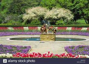 new york city central park the conservatory garden in the