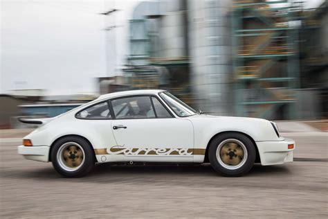 Porsche 911 Carrera 1974 by 1974 Porsche 911 Carrera Rs Side Profile In Motion Photo 13