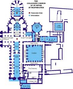 Westminster Abbey Floor Plan by Westminster Abbey Plan 1244