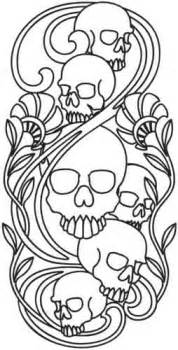 skulls nouveau urban threads unique and awesome