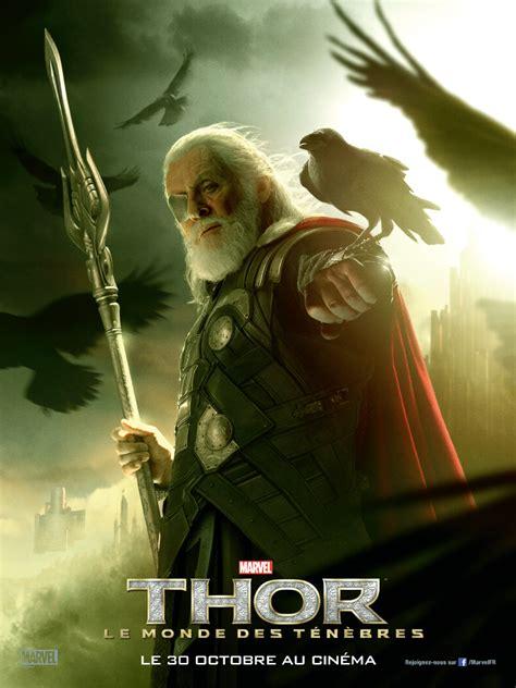 film thor le monde des ténèbres deux nouvelles affiches pour loki et odin de thor le