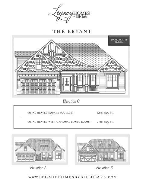 bryant floor plan bryant floor plan and interior brunswick forest