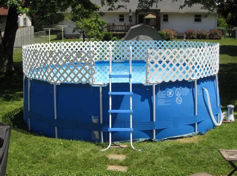 ground swimming pool fencing home decor