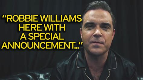 reveal robbie williams books robbie williams reveals the real reason he was forced to