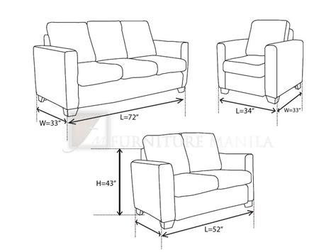 sofa set measurements standard restaurant table dimensions joy studio design