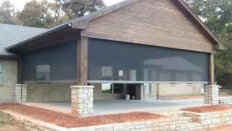 phantom screen porch synchronized and motorized 183 steed custom homes