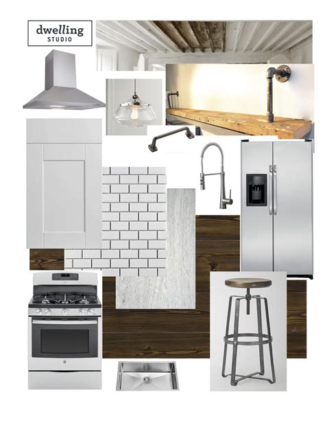 Kitchen Design Boards Kitchen Redesign Schoolhouse Modern Dwelling Studio