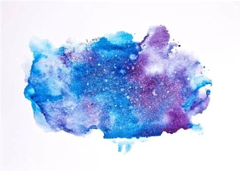 how to color water how to paint a watercolor galaxy nebula and sky 10