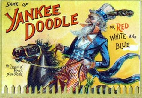 did yankee doodle name the feather hat town or his pony macaroni a reality quot yankee doodle quot deconstructed