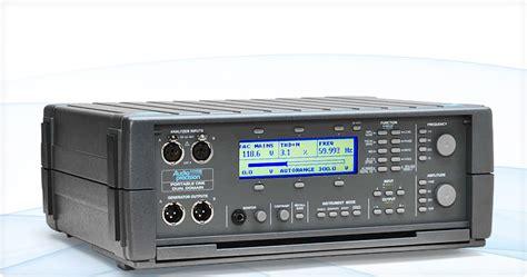 audio test audio precision test equipment
