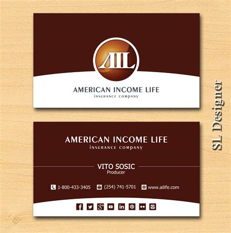 american commerce insurance company card template serious professional business card design for lilly sosic