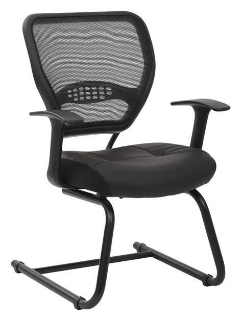 professional back chair professional air grid 174 back visitors chair with bonded