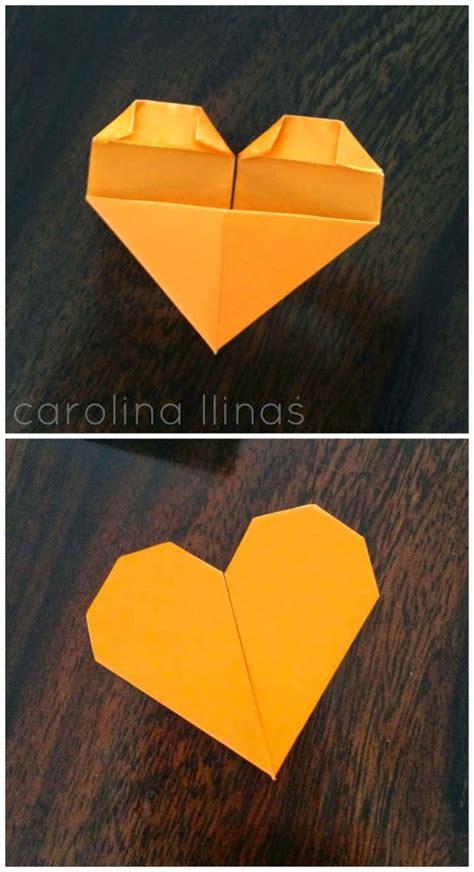 paso a paso maqueta corazon andac c 243 mo hacer corazones en origami artividades