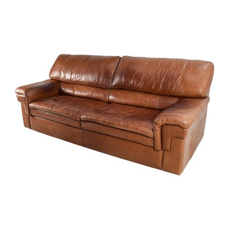 71 Cherry Brown Leather Sofa Sofas