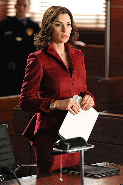 the good wife hairstyle the good wife renewed for season 5 huffpost