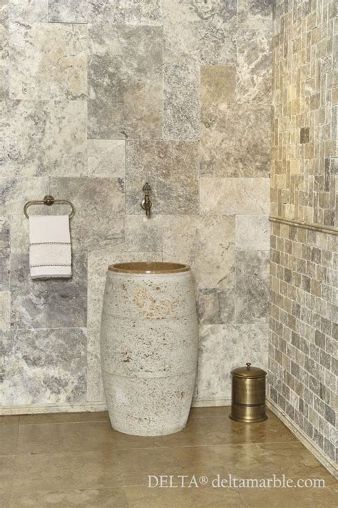 travertine bathroom ideas bathroom designs silver travertine french pattern set tumbled bathroom
