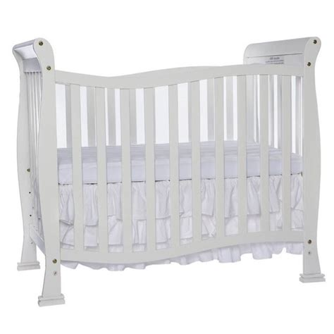 4 In 1 Mini Crib On Me Piper 4 In 1 Convertible Mini Crib In White 631 W