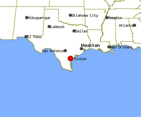 sinton texas map sinton profile sinton tx population crime map