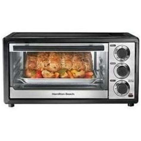 Hamilton 6 Slice Toaster Oven Review hamilton 6 slice toaster oven with broiler 31507